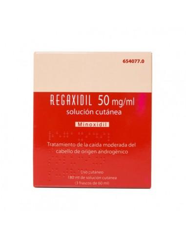 REGAXIDIL 50 MG/ML SOLUCION CUTANEA 3...