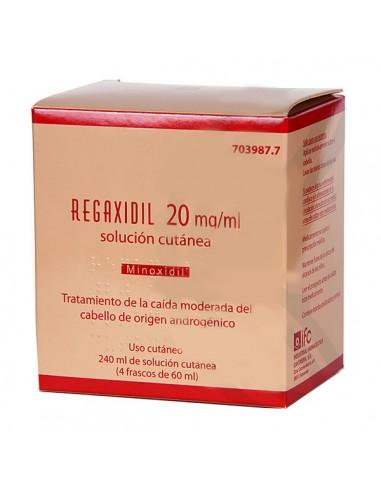 REGAXIDIL 20 MG/ML SOLUCION CUTANEA 4...