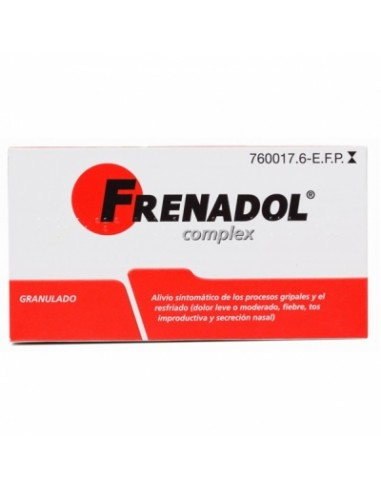 FRENADOL COMPLEX 10 SOBRES GRANULADO...