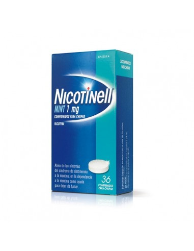 NICOTINELL MINT 1 MG 36 COMPRIMIDOS...