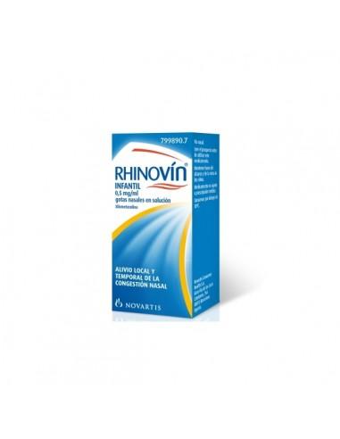 RHINOVIN INFANTIL 0.5 MG/ML GOTAS...