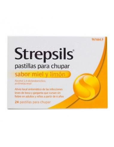 STREPSILS 24 PASTILLAS PARA CHUPAR...
